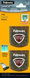 FELLOWES SafeCut Ersatzklinge, gerader Schnitt, 2er Pack