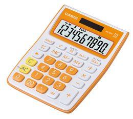 CASIO MS10VC-OE Tischrechner orange