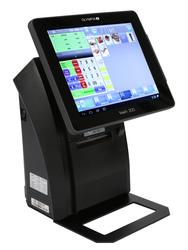 OLYMPIA Touch 200 Registrierkasse schwarz für Handel und Gastro
