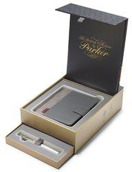 PARKER S1978401 Geschenkset SONNET Metal & Pearl C.C.