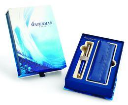 WATERMAN 1955313 Geschenkset EXPERT DELUXE BLUE OBSESSION Kugelschreiber (M)