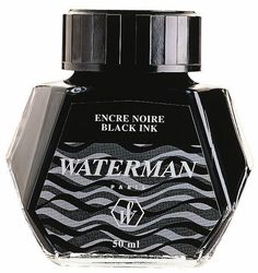 WATERMAN S0110710 Tintenflacon 50ML (schwarz)