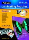 FELLOWES Laminierfolien A4, 100er Pack, 80 mic