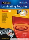 FELLOWES Laminierfolien 83 x 113 mm 100er Pack, 125 mic