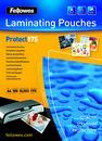 FELLOWES Laminierfolien A4, 100er Pack, 175 mic