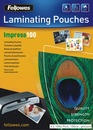 FELLOWES Laminierfolien A3, 100er Pack, 100 mic