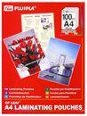 FUJIPLA Folientaschen Selbstklebend A4 100er Paket, 80mic