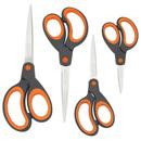 Rapesco Soft Grip Scheren RA-1577 (orange)