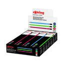 ROTRING 2090065 Bleistift HB - CORE Box mit 144 Bleistiften (rot, blau, grün)