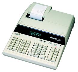 MONROE Classic-W 7130 Bürorechner druckend weiss
