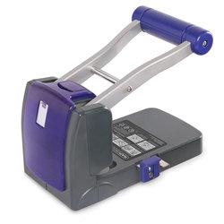 P1100 2-fach-Kraftlocher, 100 Blatt (schwarz / violett)