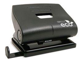 Rapesco 1086 ECO Locher aus 100% Recyclingkunststoff - 22 Blatt - Schwarz