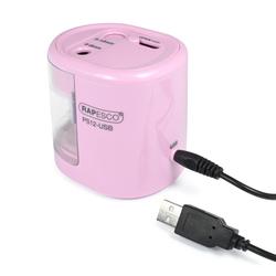 Rapesco RA-1446 Anspitzer PS12-USB (rosa)