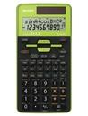 Sharp EL-531 TG-GR Wissenschaftlicher Schulrechner, D.A.L.-Eingabe, Solar--Batterie, grün