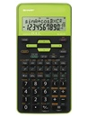 SHARP EL-531TH-GR wissenschaftlicher Rechner grün Batteriebetrieb, Nachfolger des EL-531XH