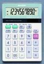 SHARP ELM711GGY Tischrechner Glastop Design
