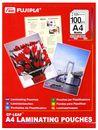 FUJIPLA Folientaschen Matt A4 100er Paket, 125mic