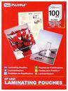 FUJIPLA Folien für Visitenkarten 100er Paket, 125mic