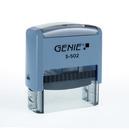 GENIE selbstfärbendes Stempel-Set S-502