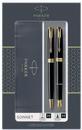 PARKER 2093371 Geschenkset SONNET Black Lacquer G.C.