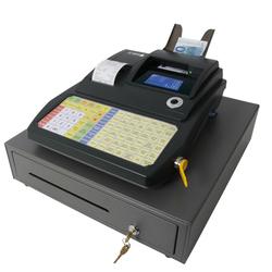 OLYMPIA CM-942F Registrierkasse mit Folientastatur anthrazit Handel / Gastro
