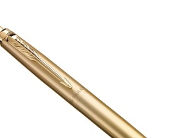 PARKER 2122754 Kugelschreiber Jotter XL Monochrom Premium Gelbgold (M, blau)