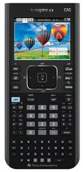 TI-Nspire CX CAS, N3CAS, Grafikrechner Deutsch und Französisch mit Schülersoftware
